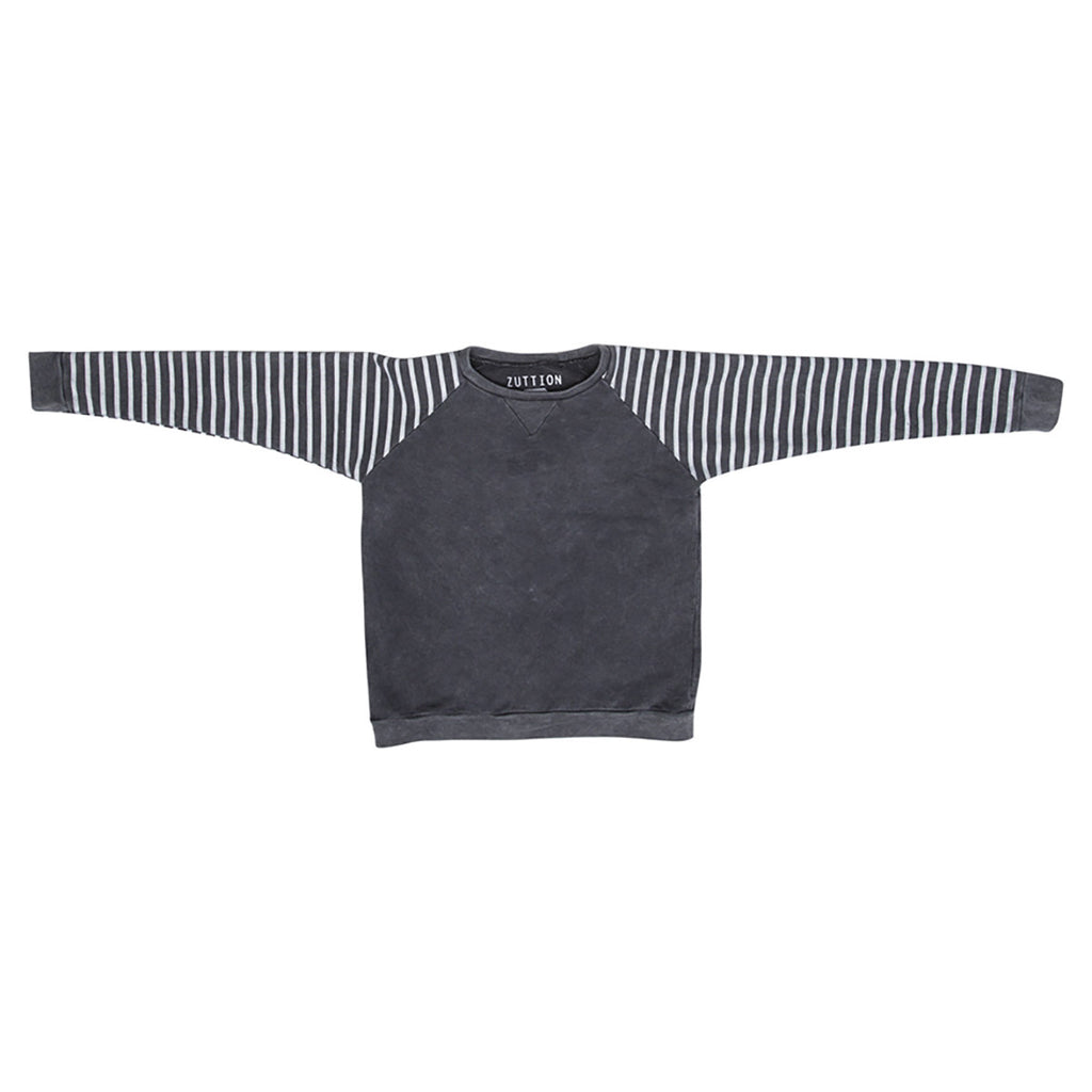 Raglan Sweater Stripe Sleeves