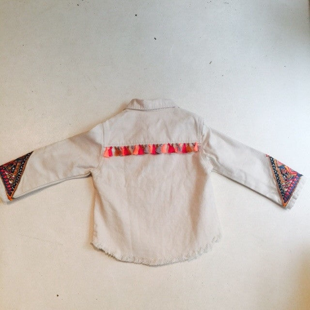 Señorita Embroidered Jacket