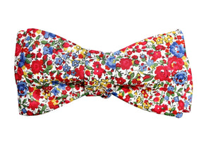 American Floral Bow Tie