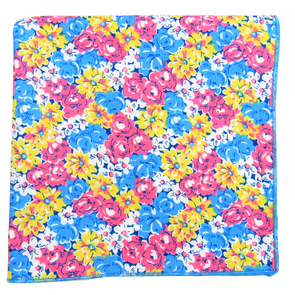 Tie-Dye Floral Pocket Square