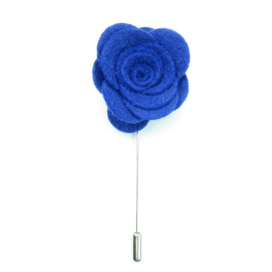 Royal Blue Lapel Pin