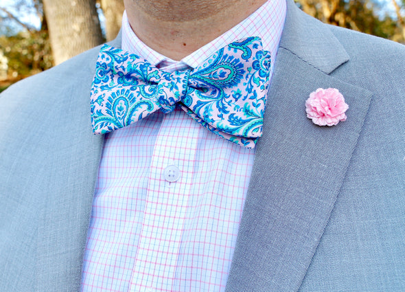 Paisley Perfection Bow Tie