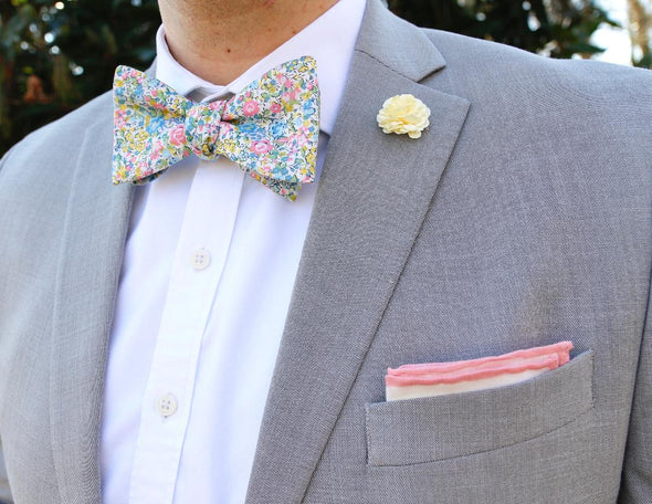 Spring Bloom Bow Tie