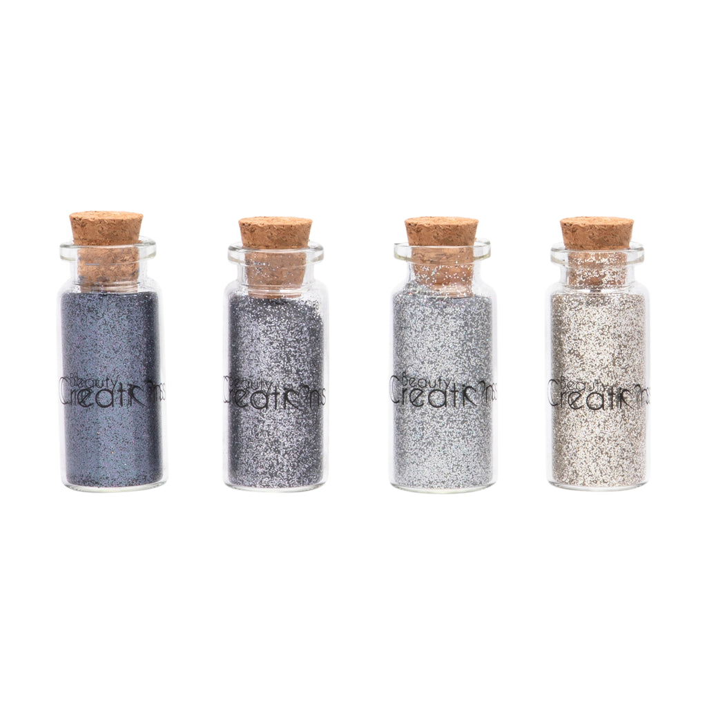 Metallic Dream Glitter Set (#18, 12,11, 10 & Glitter Primer)