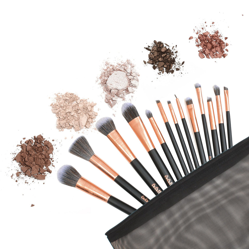 BEBELLA ROSE GOLD DREAM BRUSH SET