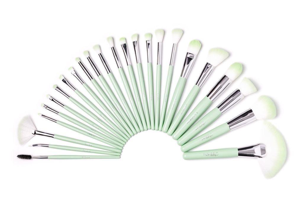 Lime Party 24PC Brush Set