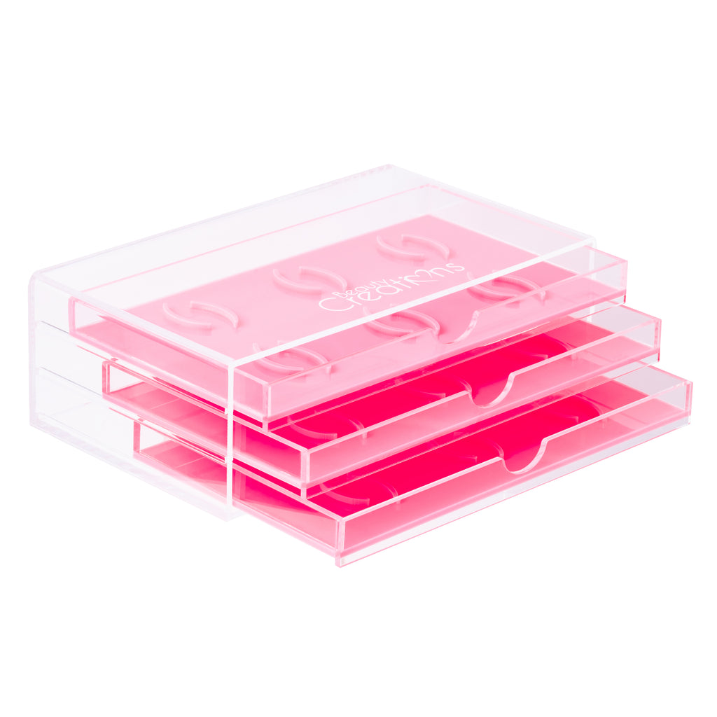 Eyelash Organizer - Light Pink