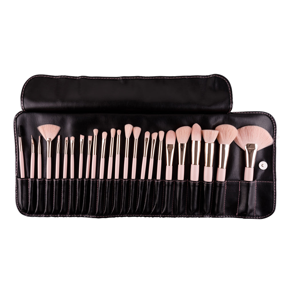 Pretty In Pink 24 pc Brush Set
