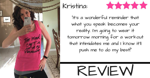 NEW REVIEW FROM CLIENT KRISTINA - WIFE, MOM & FITNESS PRO