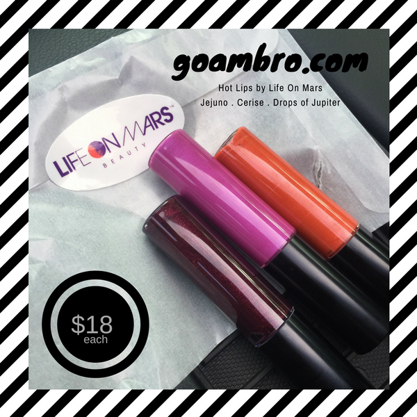 Now Available! Introducing Hot Lips Organic, Gluten Free and Vegan Glosses!