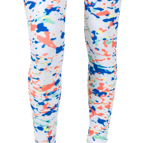 Multi Personality AMBRO Print Smooth & Silky Leggings