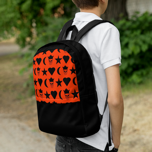 AMBRO Orange Universe Backpack