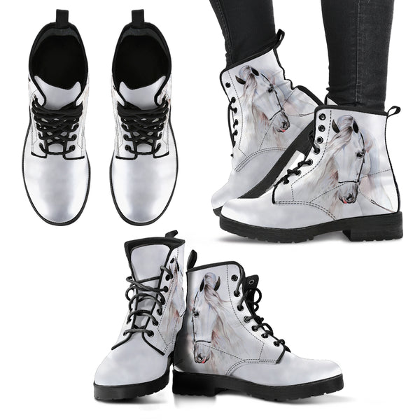 White Horse Boots