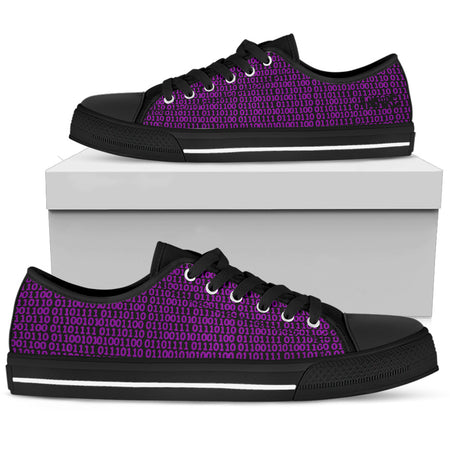 Pink Binary Love AMBRO Low Tops