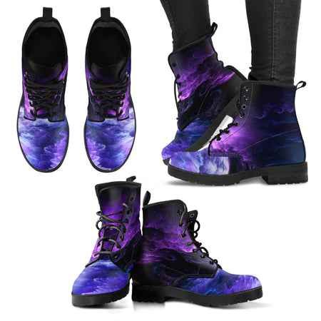 "Women's Grape Binary Love AMBRO Print ""Jaime"" Low Tops"