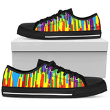 "Women's Psychedelic ""Anni"" Low Tops"