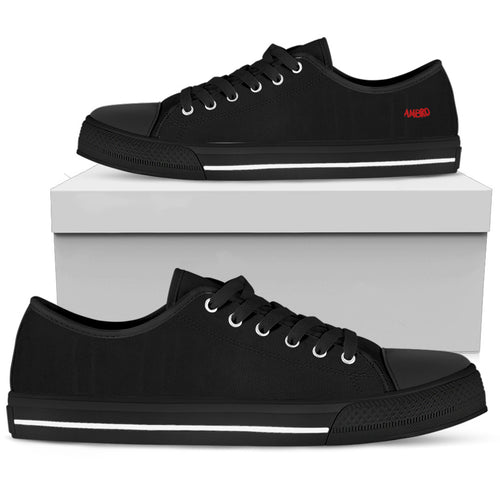 Mens Total Blackout AMBRO Low Tops