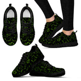 GREEN/BLACK Scatter Open Road Girl Women's Sneakers