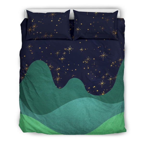 Fantasy Night Sky D7 Bedding Set