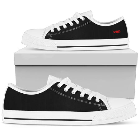 Womens Total Blackout AMBRO Low Tops