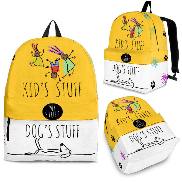 Kids stuff/Dog stuff Backpack