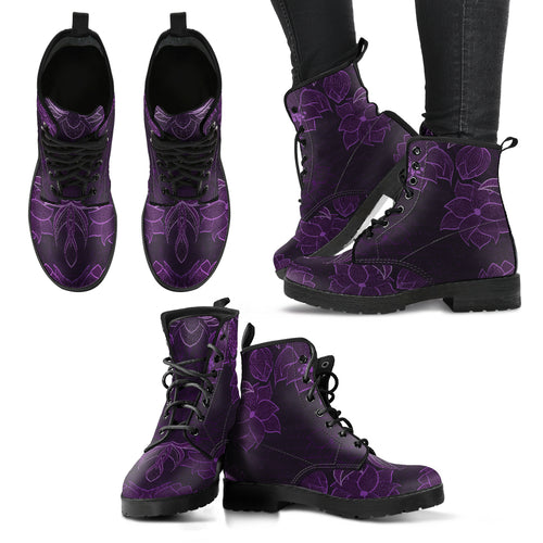 Lavendria Women's Leather Boots