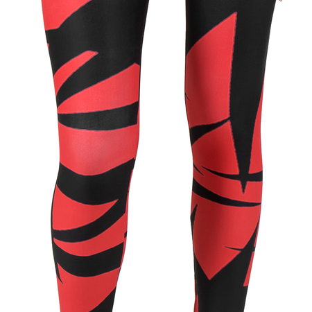 I Dare You AMBRO Print Smooth & Silky Leggings