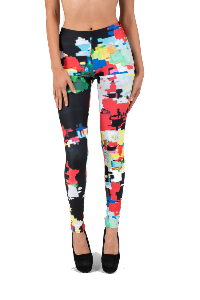 Graffiti AMBRO Print Smooth & Silky Leggings