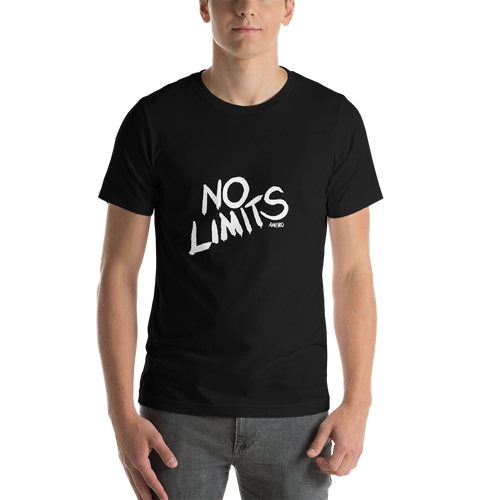 No Limits Handwritten AMBRO Black Art Tee
