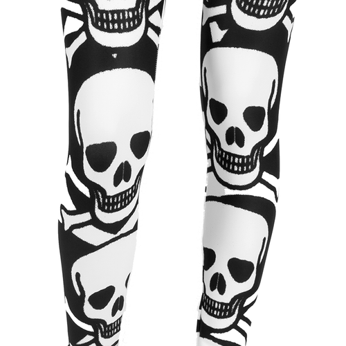 PLTH AMBRO Print Smooth & Silky Leggings