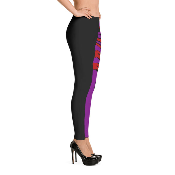 NEW Rosso Viola Smooth & Silky Leggings