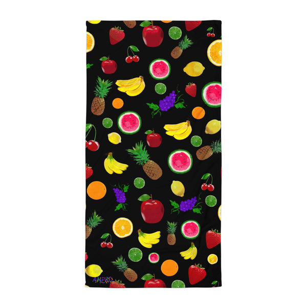Fruit Power AMBRO Print Beach Towel