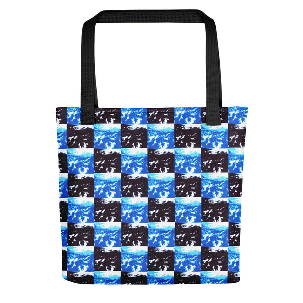 24/7 Checkerboard Tote bag