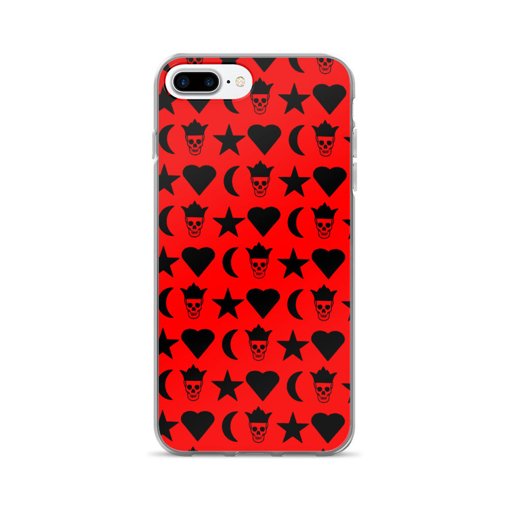 Hot Red Passion iPhone 7/7 Plus Case