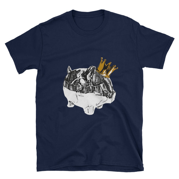 City King Piggy Art Tee