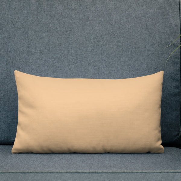 Tiara Linen Scroll Premium Pillow