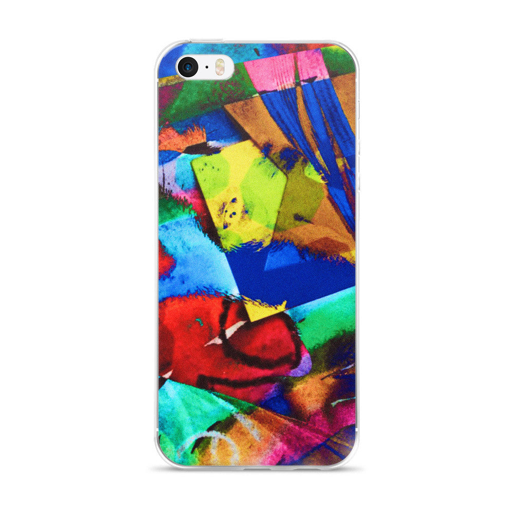 Stained Glass 5/5s/Se, 6/6s, 6/6s iPhone Case