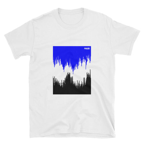 Dripping Blue AMBRO Art Tee