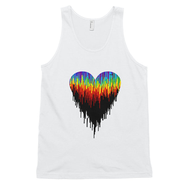 Psychedelic Ambro Heart Classic Fit Tank