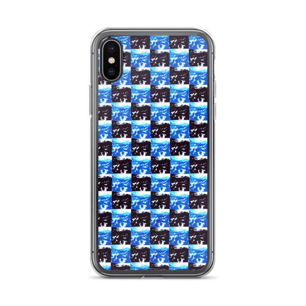 24/7 Checkerboard iPhone Case