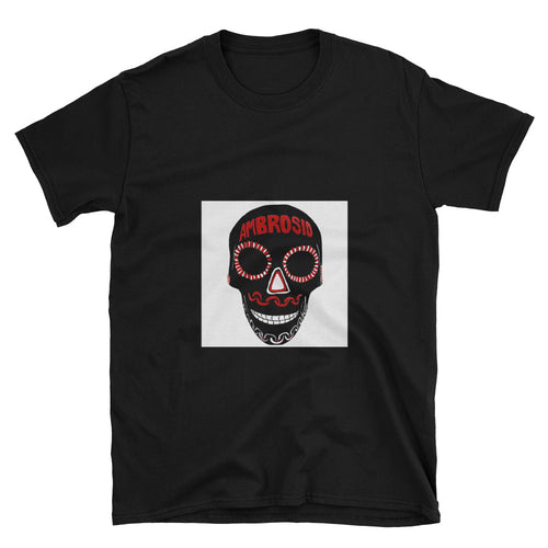 Single Mex Skull on White Art Tee