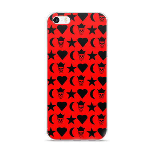 Hot Red Passion 5/5s/Se, 6/6s, 6/6s iPhone Case