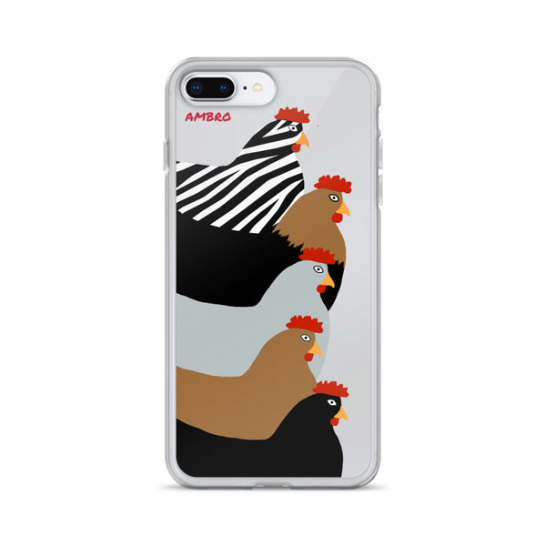 Laying Ladies iPhone Case