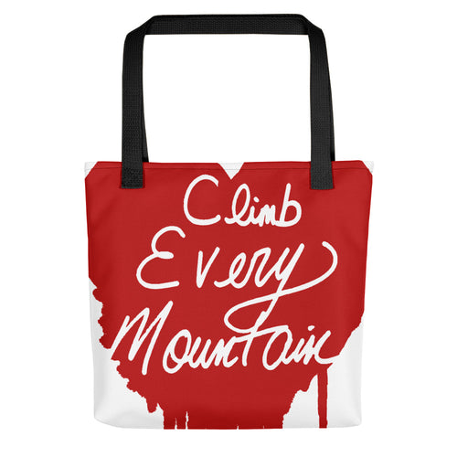 Climb Every Mountain Tote bag
