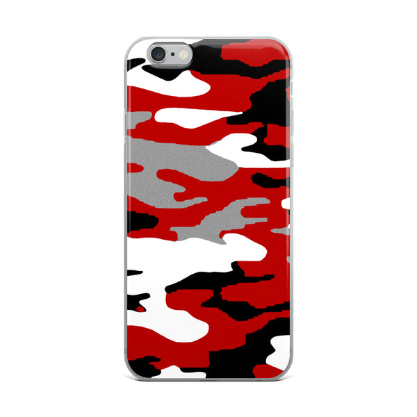 AMBRO Flag Red, White & Black iPhone Case