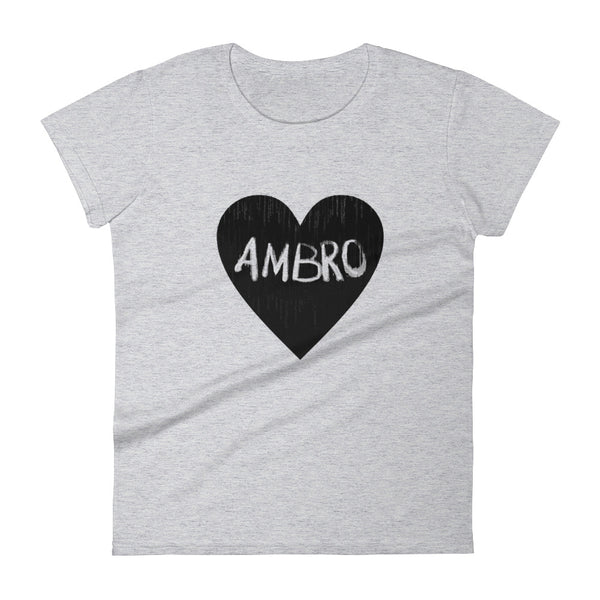 AMBRO Heart Women's Fashion Tee
