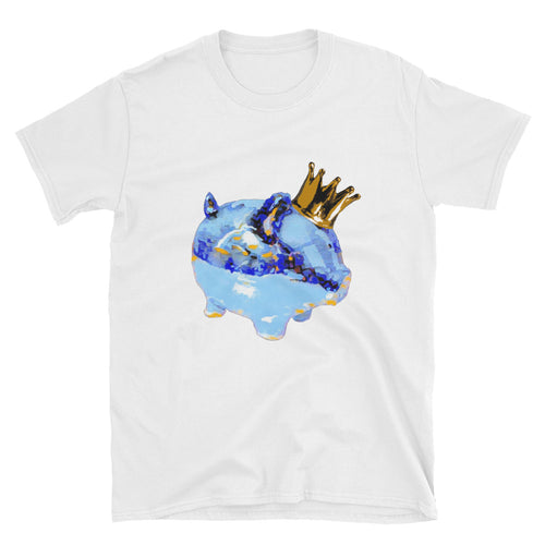 Frozen King Piggy Art Tee