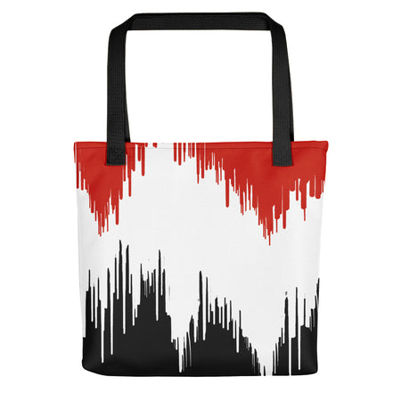 Noir Film Static Tote bag
