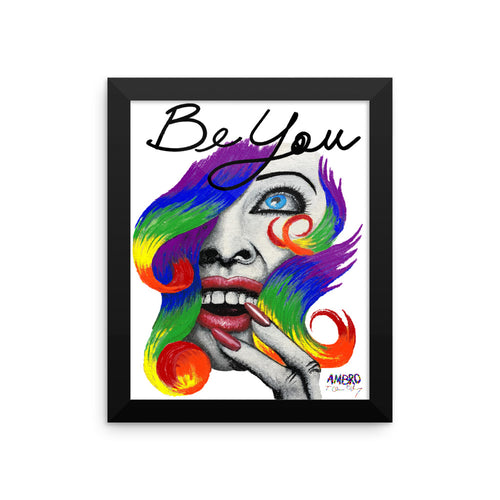 "AMBRO O'Leary Mantra Art ""Be You"""