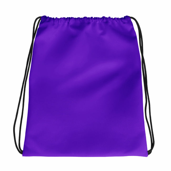 Purple Drawstring bag